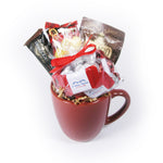 Ceramic Mug Filled with Cocoa & Chocolates