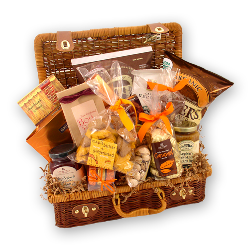 Fall Foliage Autumn Gift Basket