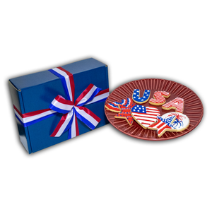 Load image into Gallery viewer, Hand Decorated 4th of July Sugar Cookies