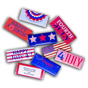 Load image into Gallery viewer, July 4th Hershey's Chocolate Bars