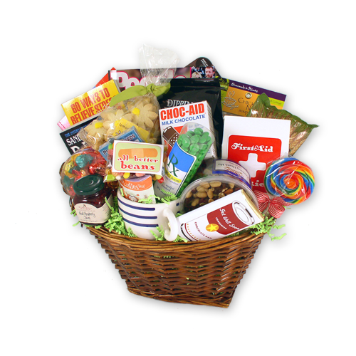 Gourmet Get Well Gift Basket