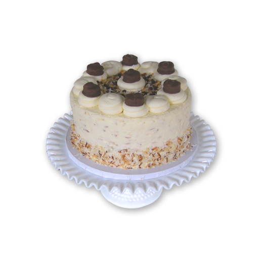 Load image into Gallery viewer, Almond Joy Candy Cake - 8""