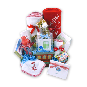 Load image into Gallery viewer, Noah's Ark Baby Gift Basket