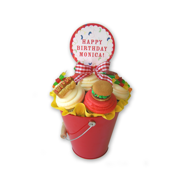 Load image into Gallery viewer, BBQ Cupcake Bouquet