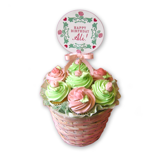 Birthday Cupcake Bouquet