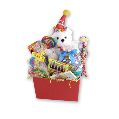 Load image into Gallery viewer, A Birthday Wish Kids Gift Basket