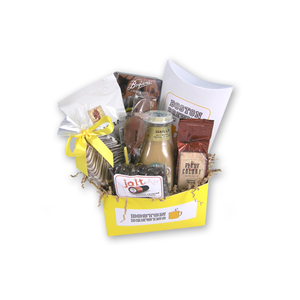 Load image into Gallery viewer, Boston Brewins' Coffee Gift Basket