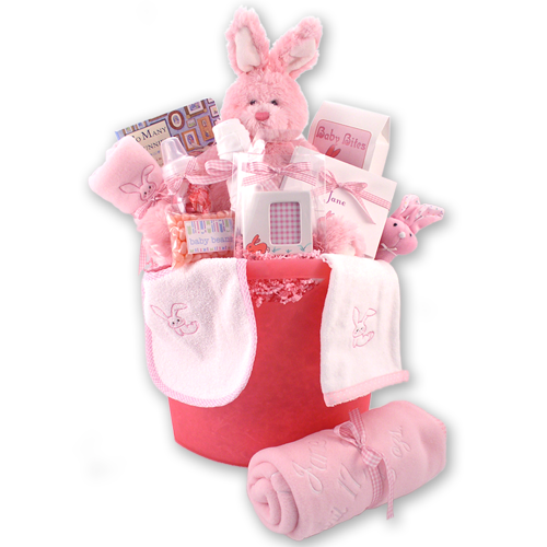 Load image into Gallery viewer, Little Bunny Baby Gift Basket