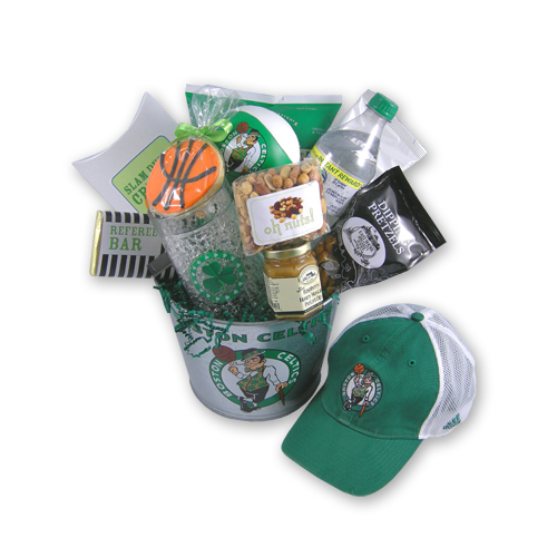 Boston Celtics Basketball Gift Basket