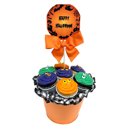 Load image into Gallery viewer, Halloween Cupcake Bouquet