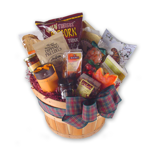Fall Clean-up Autumn Gift Basket
