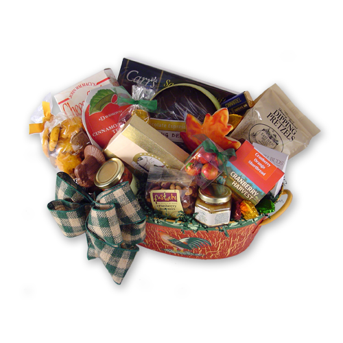 Fall Feast Autumn Gift Basket