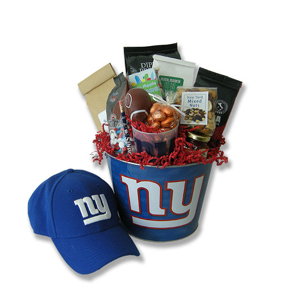 Go Giants! Football Gift Basket