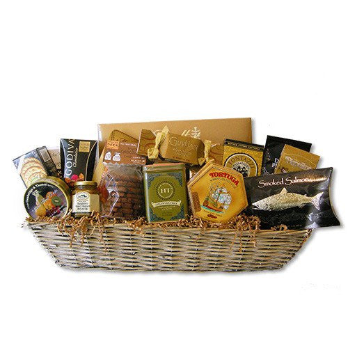 VIP Gold Gift Basket