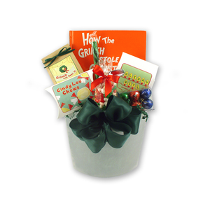 Grinch & Bear It Christmas Gift Basket