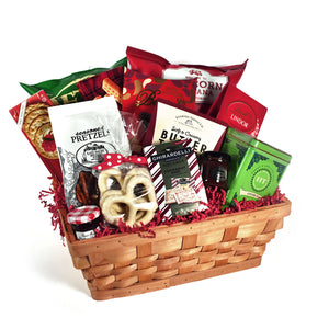Holiday Cheer Christmas Gift Basket