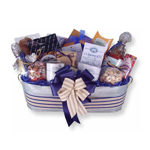 Holiday by the Sea Gift Basket