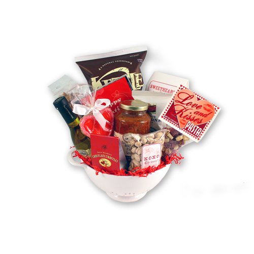 Love & Kisses Valentine's Day Gift Basket