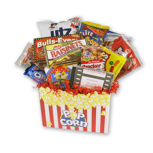 Movie Time Edible Gift Basket