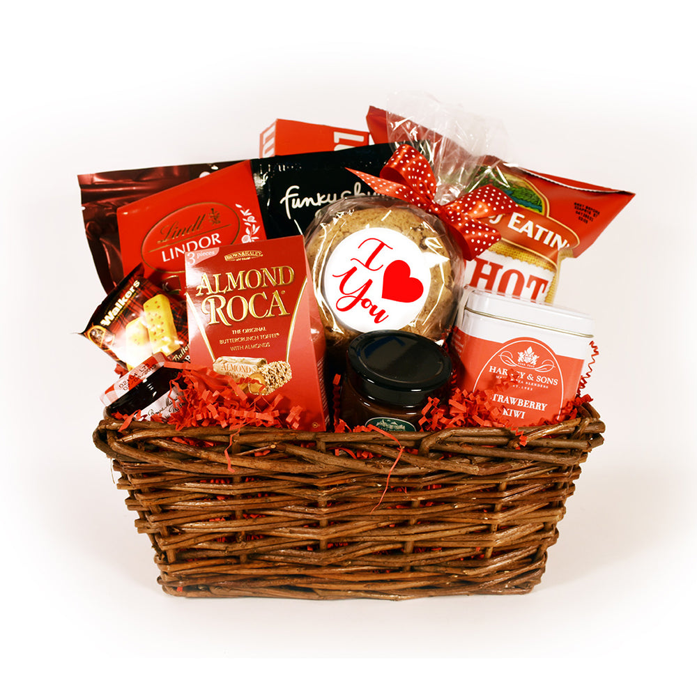 Load image into Gallery viewer, Be Mine Valentine's Day Gift Basket