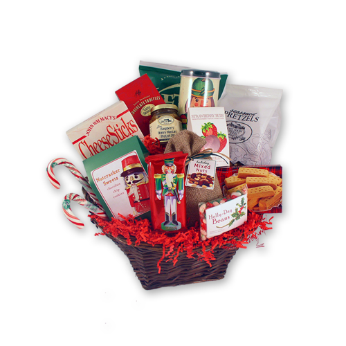 Load image into Gallery viewer, Nutcracker Sweet Holiday Gift Basket