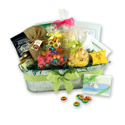Boston Public Garden Gift Basket