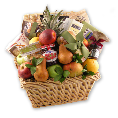 Load image into Gallery viewer, Sincere Sympathy Fruit Basket