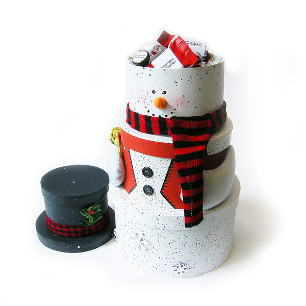 Snowman Tower Gift Boxes
