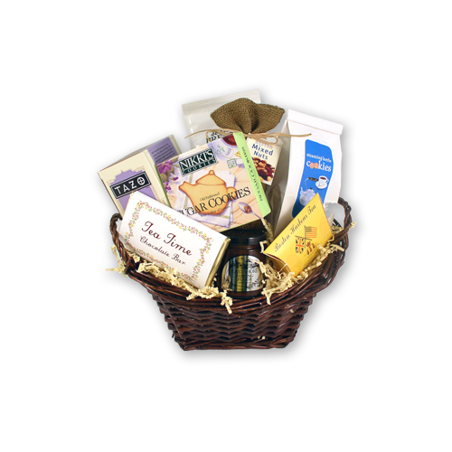 The Steaming Kettle Tea Gift Basket