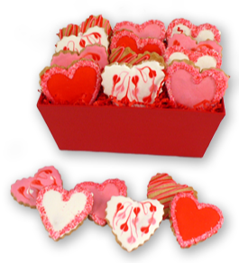 Sweet Hearts Valentine Cookies