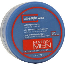 Matrix All-Style Wax Defining Shine Light Hold 1.7 Oz