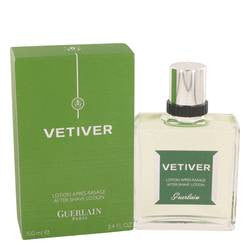 Vetiver Guerlain After Shave Lotion By Guerlain
