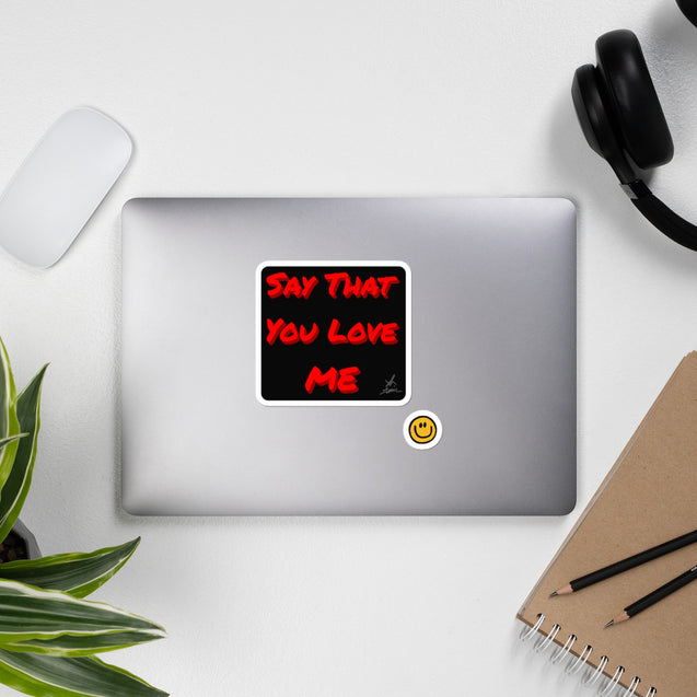 2020 SAY THAT YOU LOVE ME 《依然愛你》貼片 Bubble-free stickers
