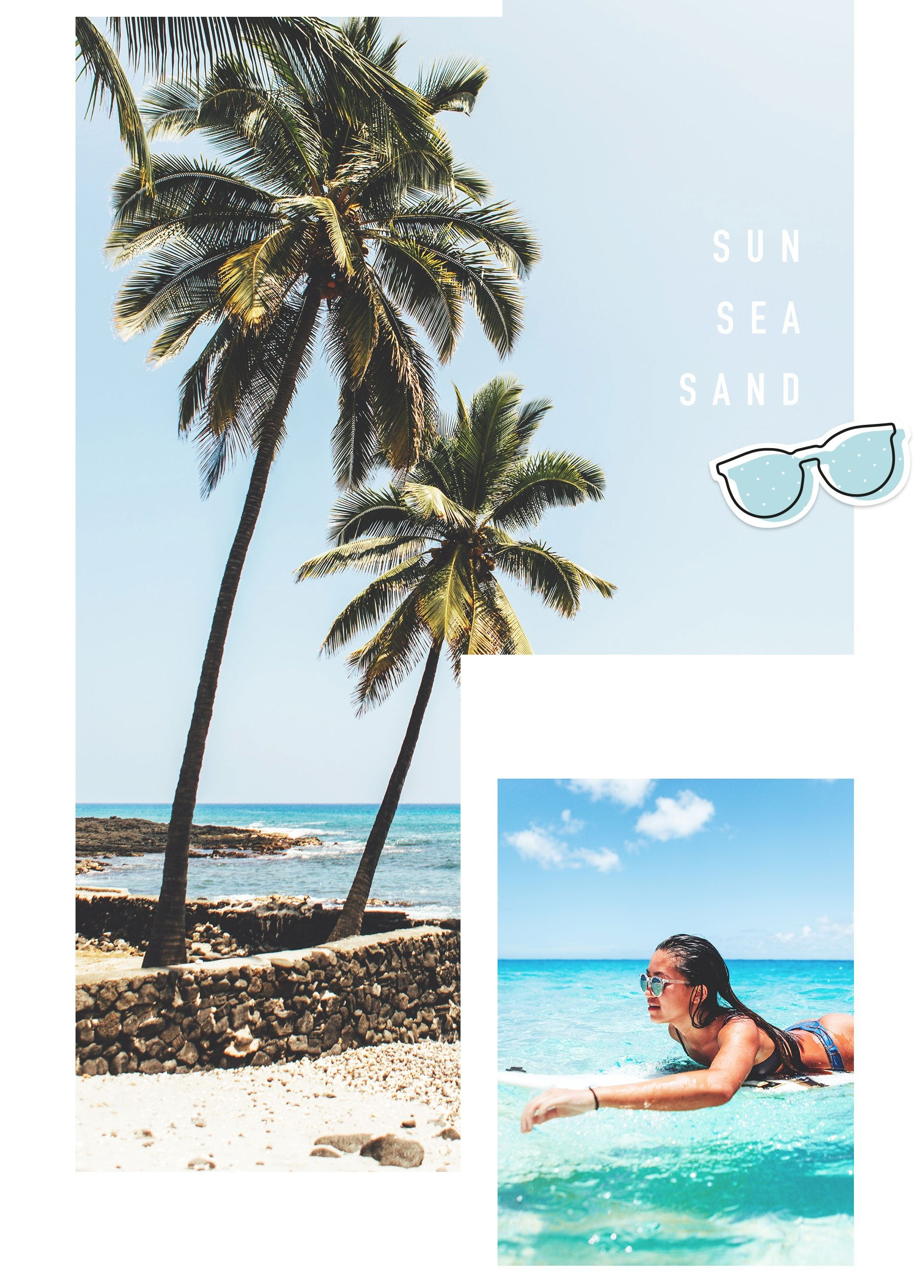 Hawaii sunglasses Miss Hamptons Collection