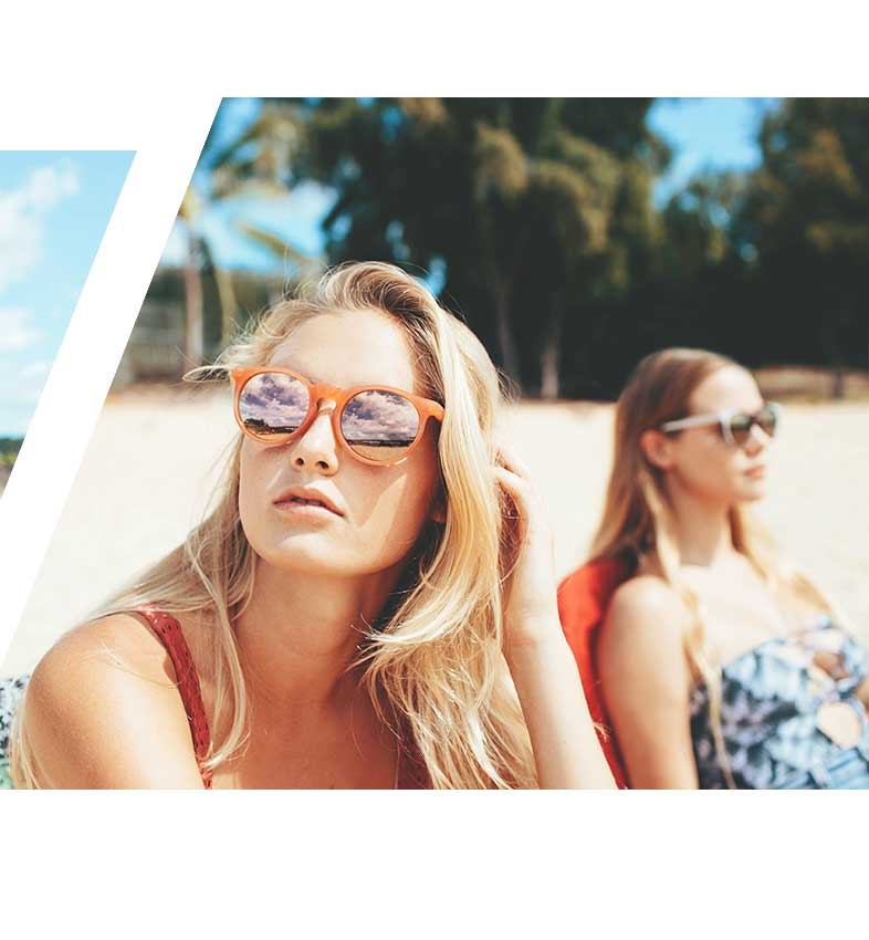 TANGERINE sunglasses Miss Hamptons Collection