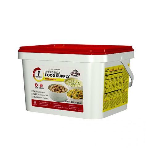 1-Week 1-Person Emergency Food Pail