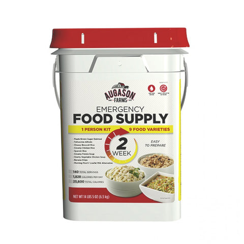 Auguson Farms 2-Week 1-Person Emergency Food Pail