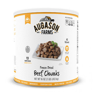 Auguson Farms Freeze Dried Beef Chunks (Real Meat)