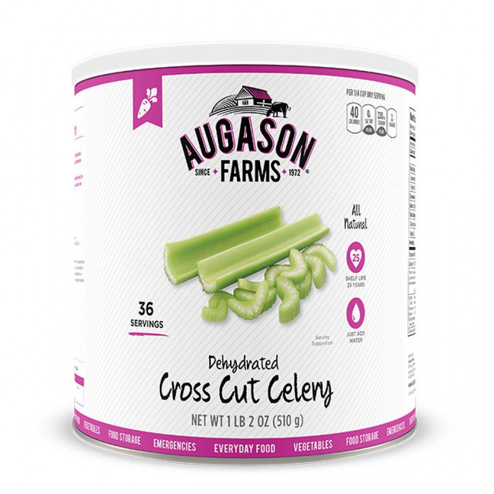 Auguson Farms Dehydrated Cross Cut Celery