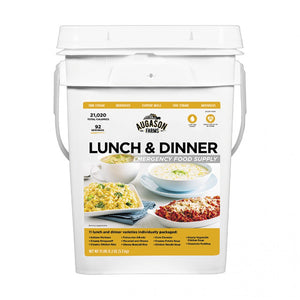 Auguson Farms Emergency Food Supply Lunch & Dinner Pail