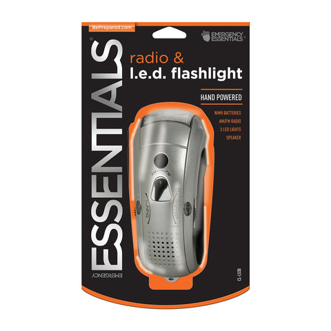 Emergency Essentials Wavelength Emergency Radio and Flashlight