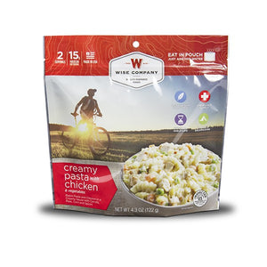 Wise Foods Creamy Pasta with Chicken Camping Food
