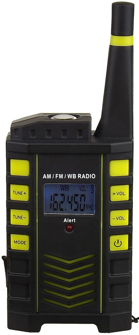 Kaito KA123 Digital AM/FM & NOAA Weather Radio with Alert & Flashlight