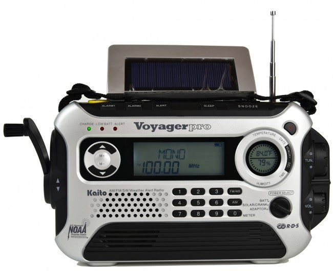 Kaito KA210 Pocket AM//FM NOAA Weather Radio Black