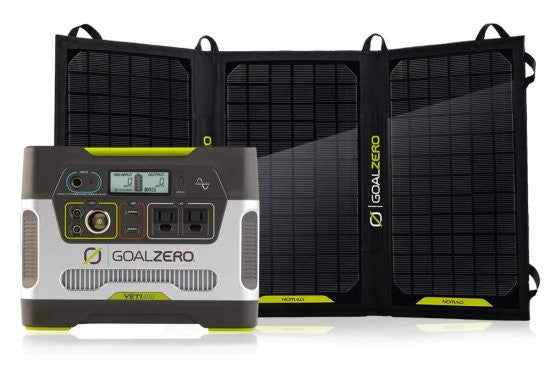 GOAL ZERO YETI 400 PORTABLE POWER STATION KIT