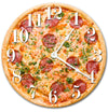 Pizza Food Kitchen Hanging Wall Clock