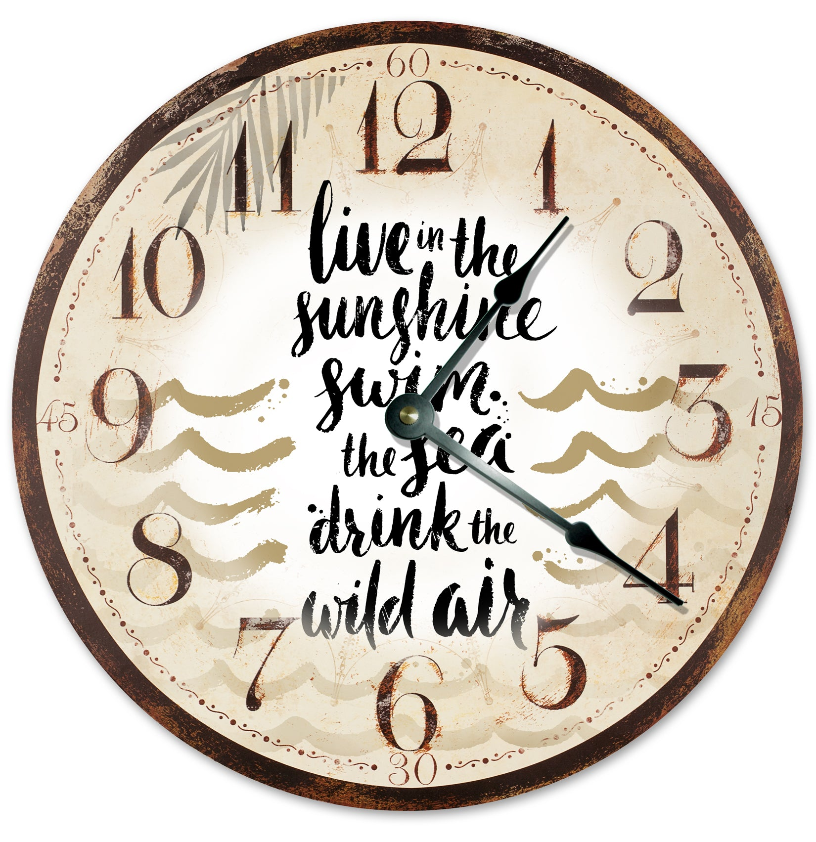 The Sunshine Wild Air Hanging Wall Clock