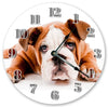 Puppy Dog Face Handmade Hanging Wall Clock