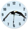 Bald Eagle Bird Handmade Hanging Wall Clock