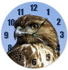 Red Tailed Hawk Hanging Wall Clock